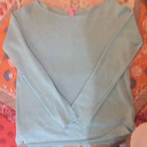 Lilly Pulitzer Linen sweater